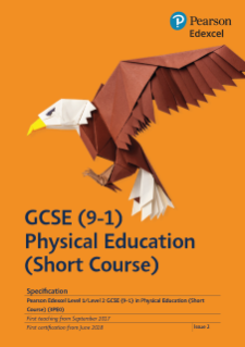 GCSE Physical Education 2017 Specification (Short Course)